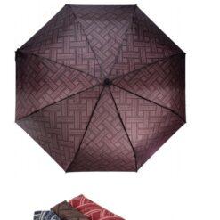 Hnedý skladací dáždnik Laura Biagiotti