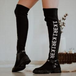 Elastické čižmy nad kolená J.KERElastické čižmy nad kolená J.KER