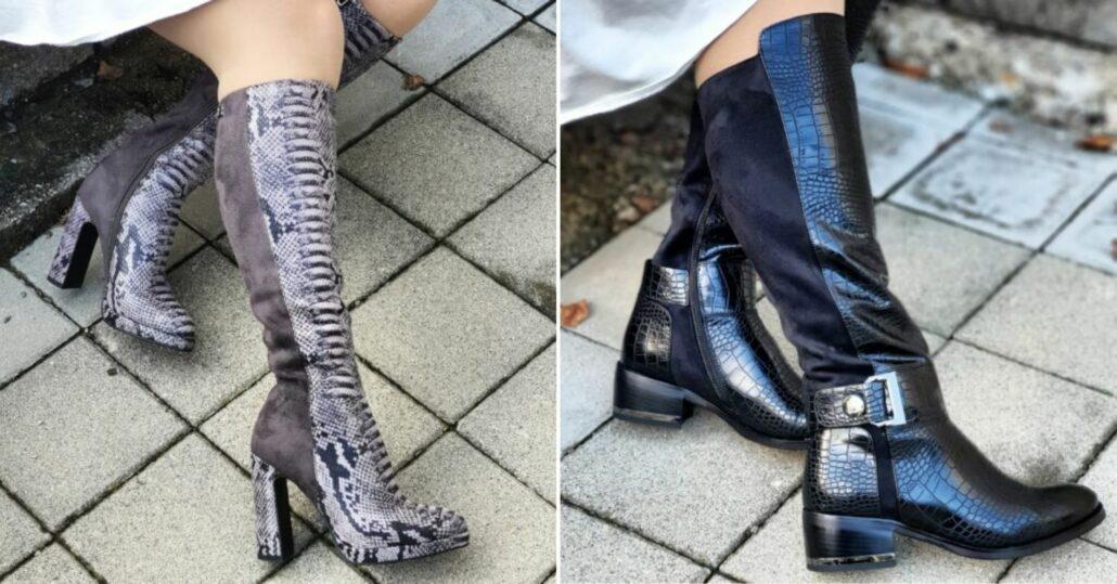 ako nosiť vysoké čižmy