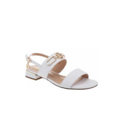 Biele sandále Laura Biagiotti