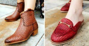 kožené topánky Kožené boty