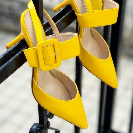 Žlté lodičky Laura Biagiotti